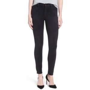 Joe's Jeans The Icon Faux Suede Skinny Ankle Pants
